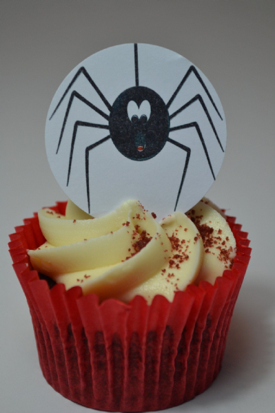 Edible cake toppers decoration - Halloween Spider